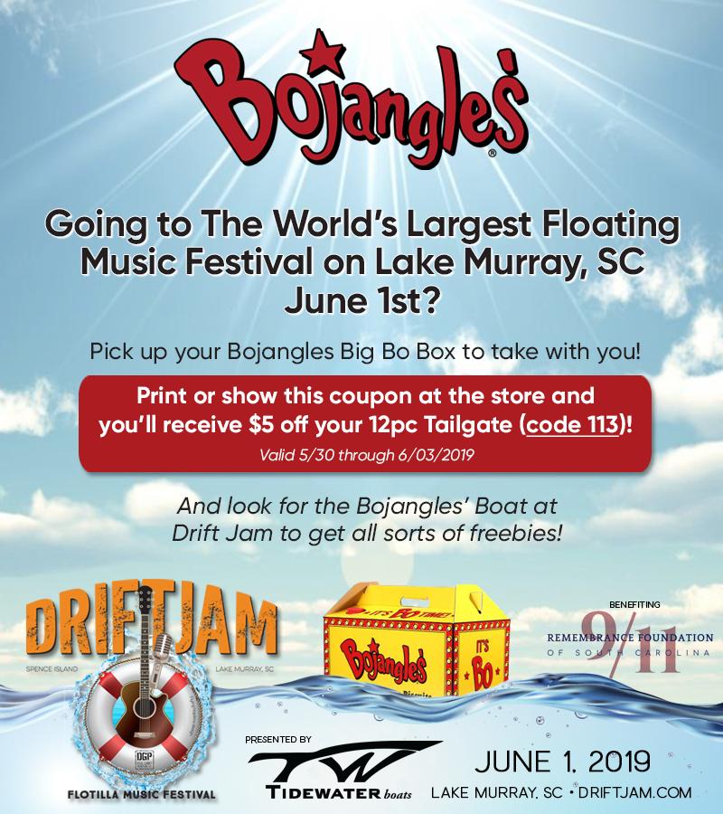 Drift Jam - Flotilla Music Festival 2018
