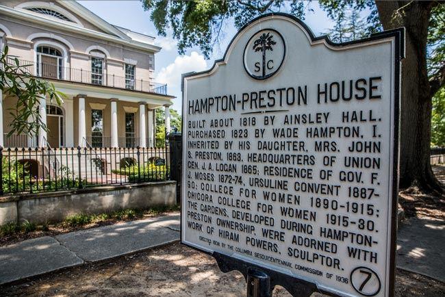 Image result for hampton-preston mansion and gardens