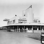 The Union Pacific Railroad Depot in Las Vegas
