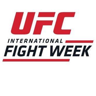 Calendario Ufc 2020.International Fight Week