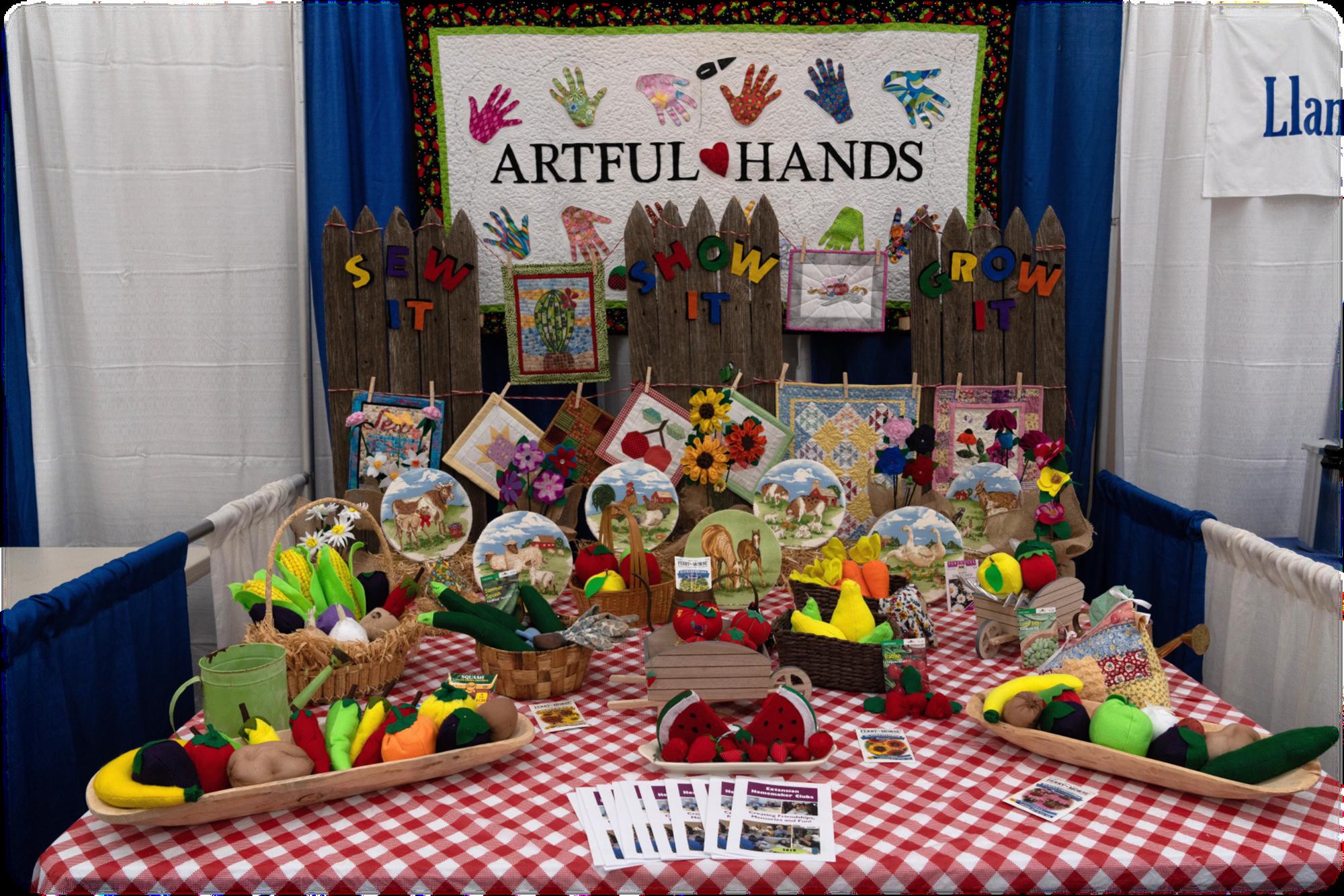 Creative Arts & Community Booths