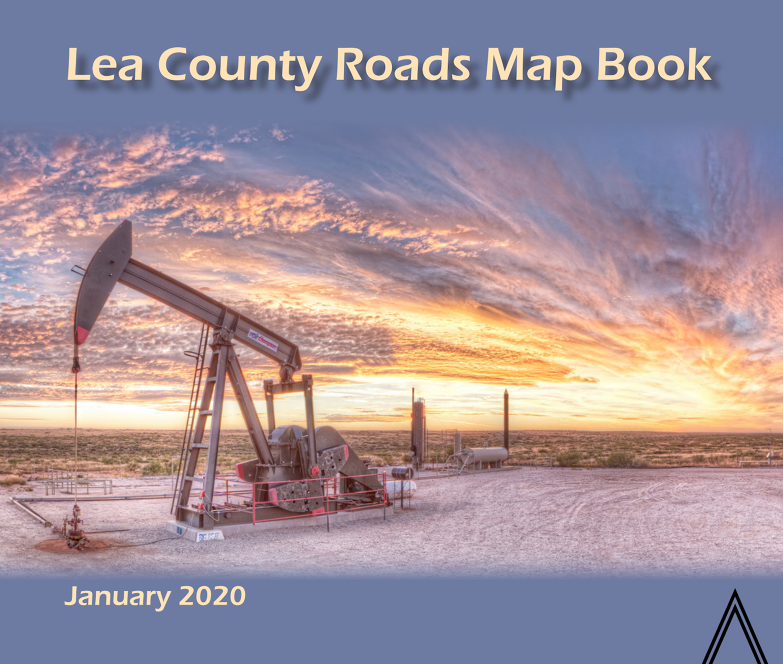 Lea County Wall Map 2020