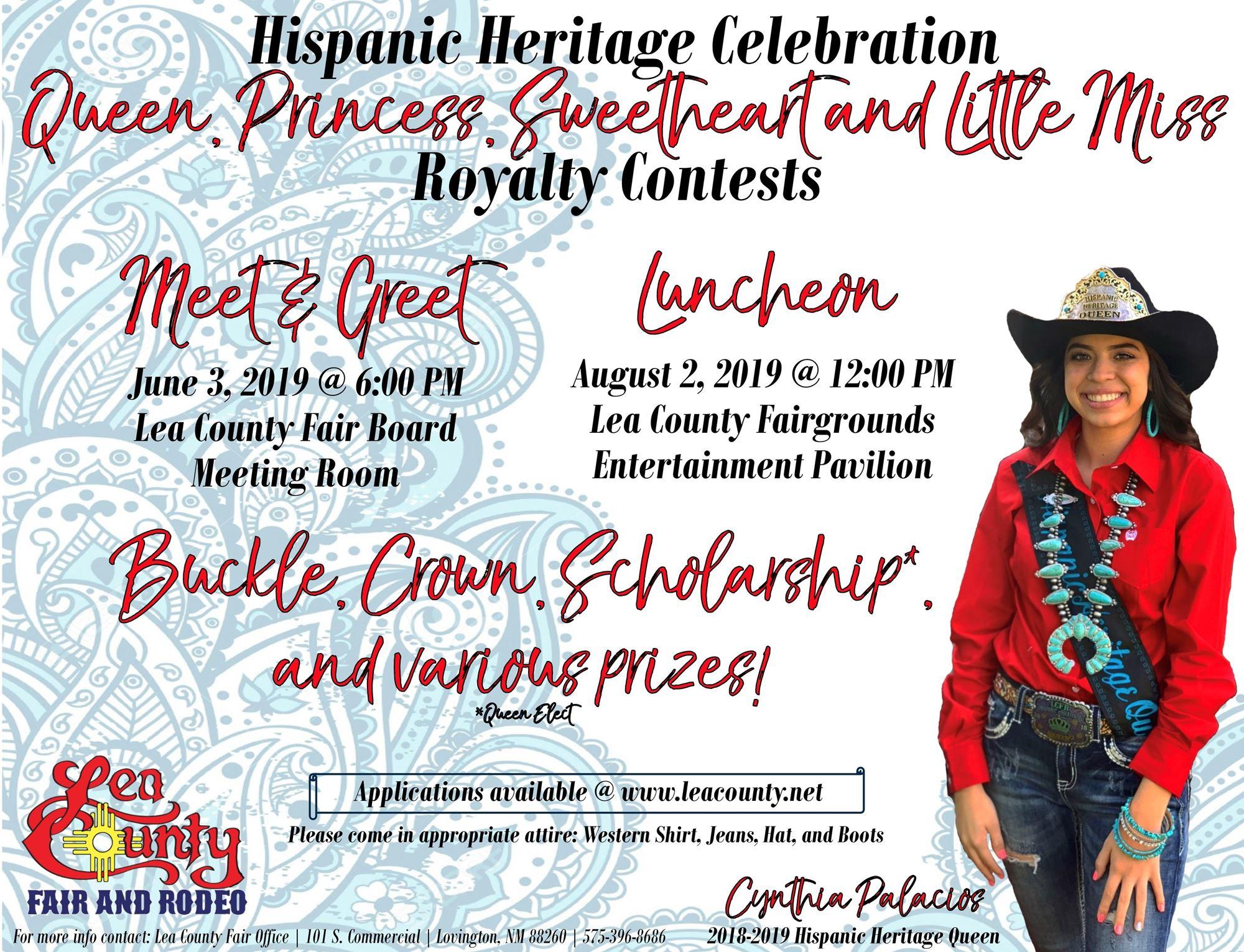 Hispanic Heritage Royalty Contest