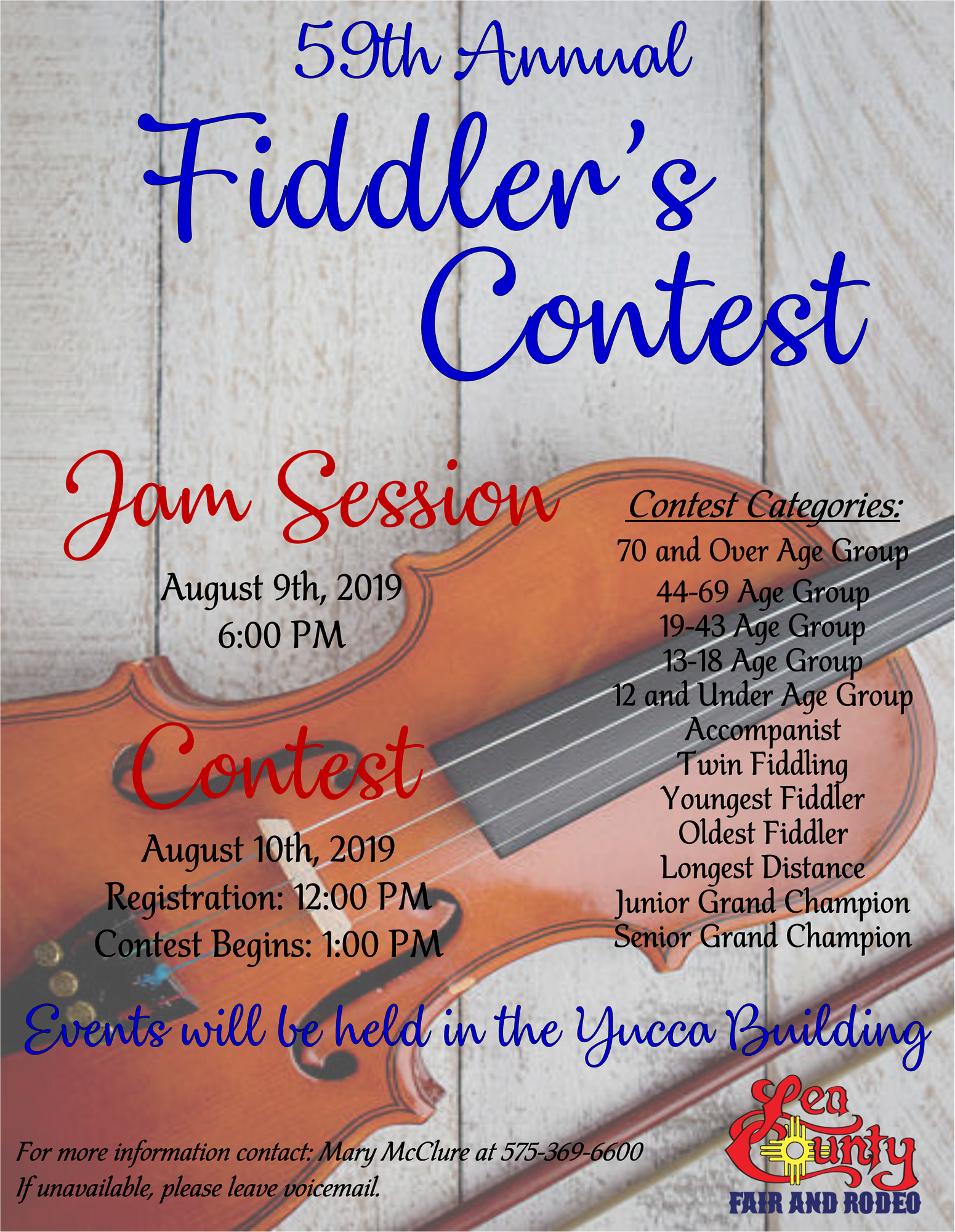 59th Annual Fiddler's Contest