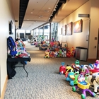 The lower concourse is filled with children toys.