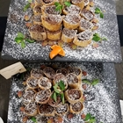 A delicious buffet style spread is presented to the viewer.