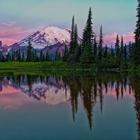 Sunrise at Mt Rainier