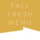 Fall Fresh Menu