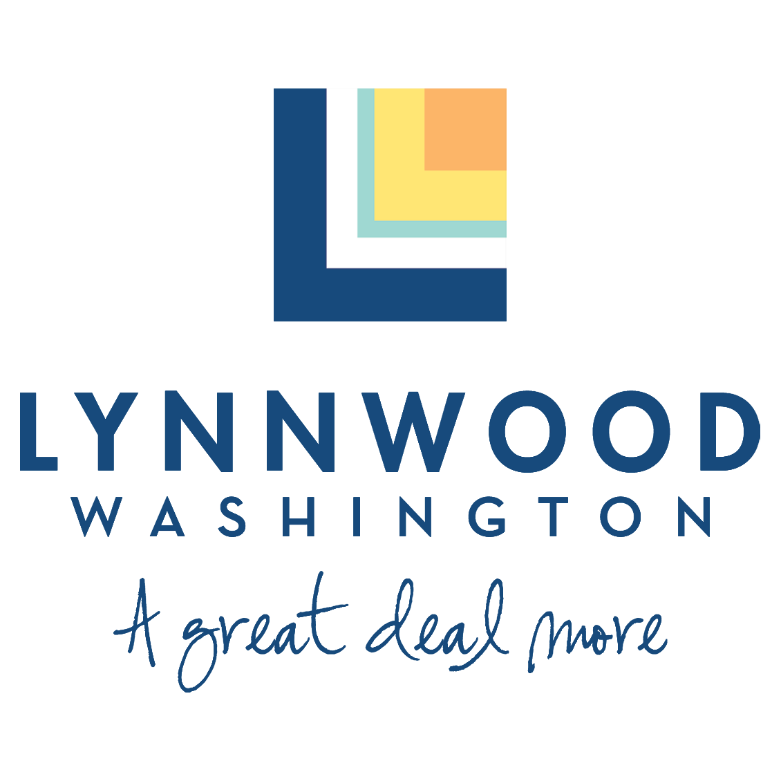 Picture that has the Lynnwood logo and says