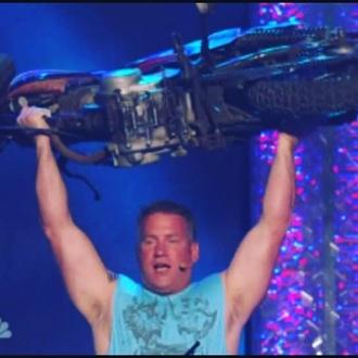 America's Got Talent Hollywood finals! John Beatty -The STRONG MAN!