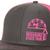 2018 Mesh Logo Hat - Pink / Gray
