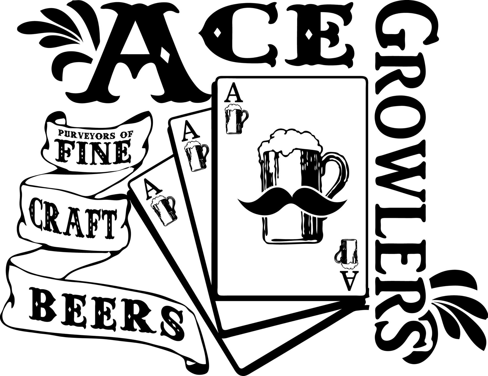 Ace Beer Growlers