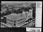 Carnegie Library and Central Baptist Church, 1904.