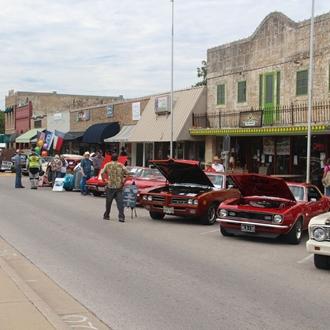 Marble Falls Main Street Car Show - Main street car show