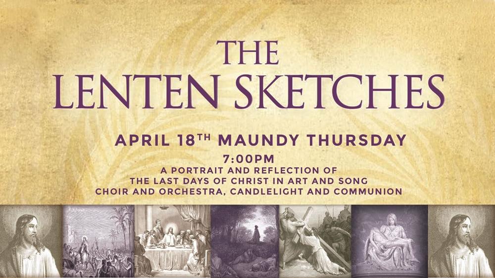 Lenten Sketches Concert