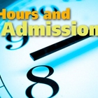 HOURS & ADMISSION