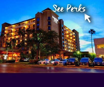 Doubletree Suites Hilton McAllen Getaway + PERKS