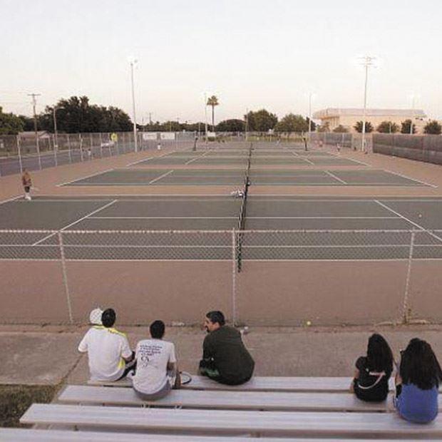 McAllen High School Tennis Courts