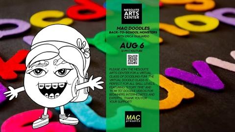MAC Doodles: Back-to-School Monsters