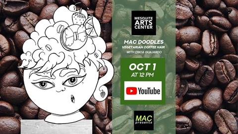 MAC Doodles: Vegetarian Coffee Hair