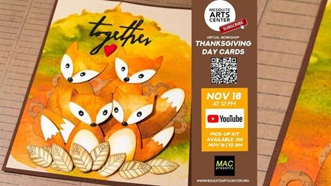 Thanksgiving Card Tutorial