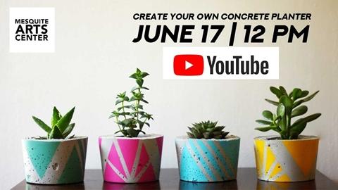 Create Your Own Concrete Planter