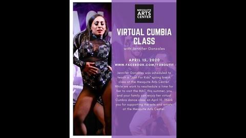 Cumbia Class with Jennifer Gonzales