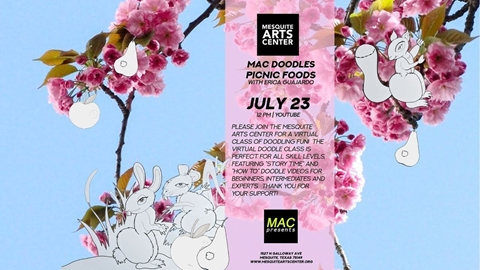MAC Doodles: Picnic Foods