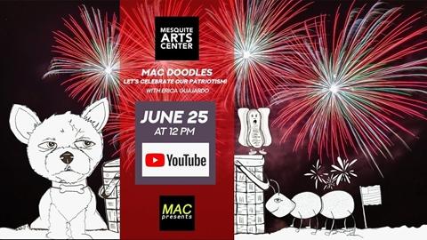 MAC Doodles: Let's Celebrate Our Patriotism!