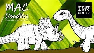 MAC Doodles: Dinosaurs