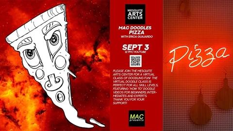 MAC Doodles: Pizza