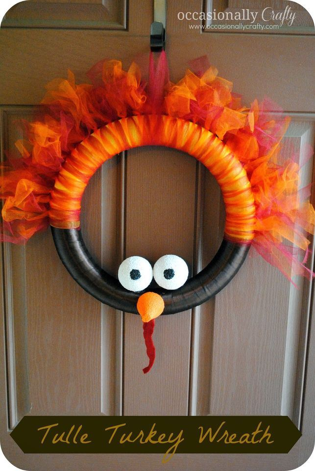 Thanksgiving Day Wreath
