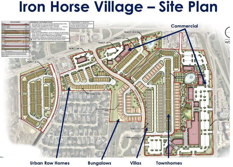 Mixed-use project joining Mesquite's landmark rodeo complex