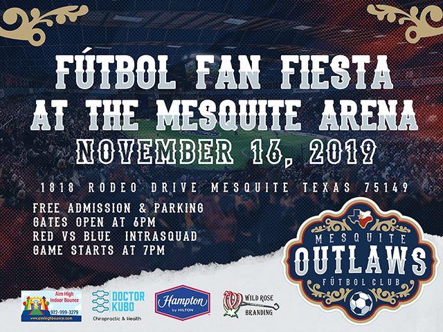 Nov. 16 | Futbol Fan Fiesta