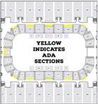ADA Arena Seating Map