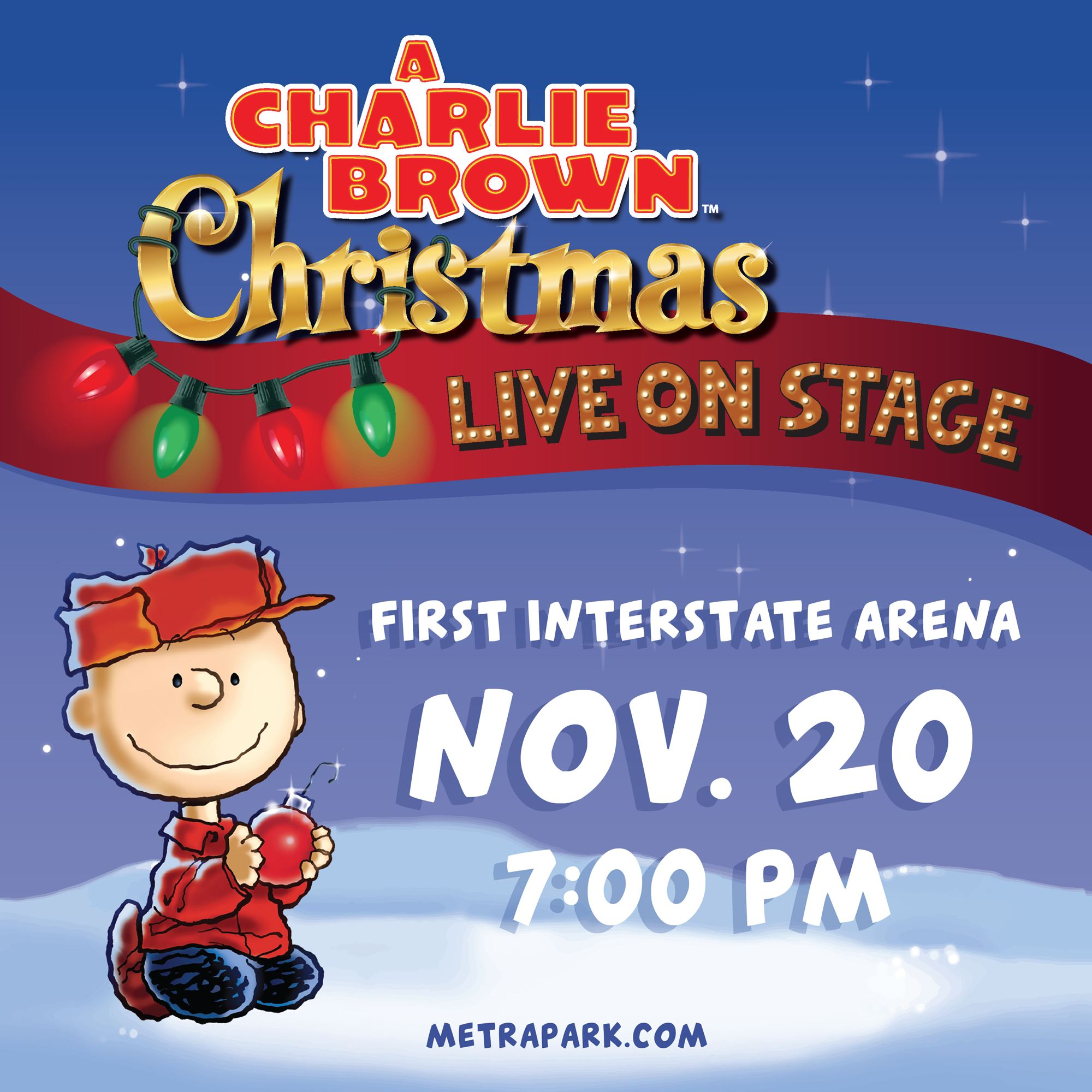 A Charlie Brown Christmas Book.A Charlie Brown Christmas Live On Stage