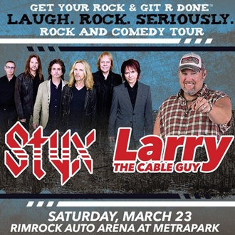 Styx Larry The Cable Guy