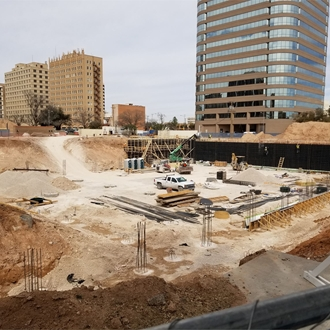 Construction Photos - March 2018