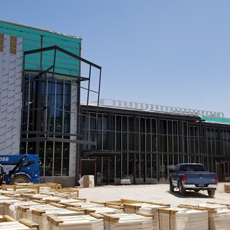 Construction Photos - April 2019