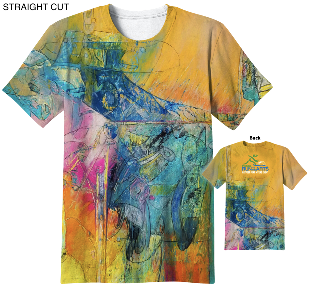 Run To The Arts T-shirt 2016