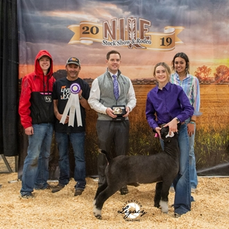 Grand Champion Jr. Fed Goat