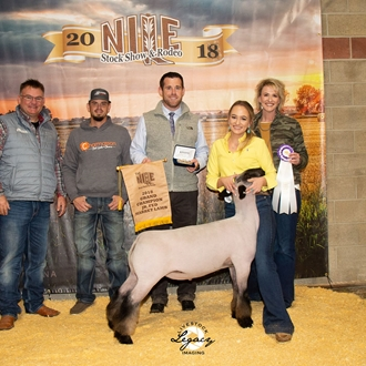 Grand Champion Jr. Fed Lamb