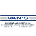Van's Plumbing and Electric