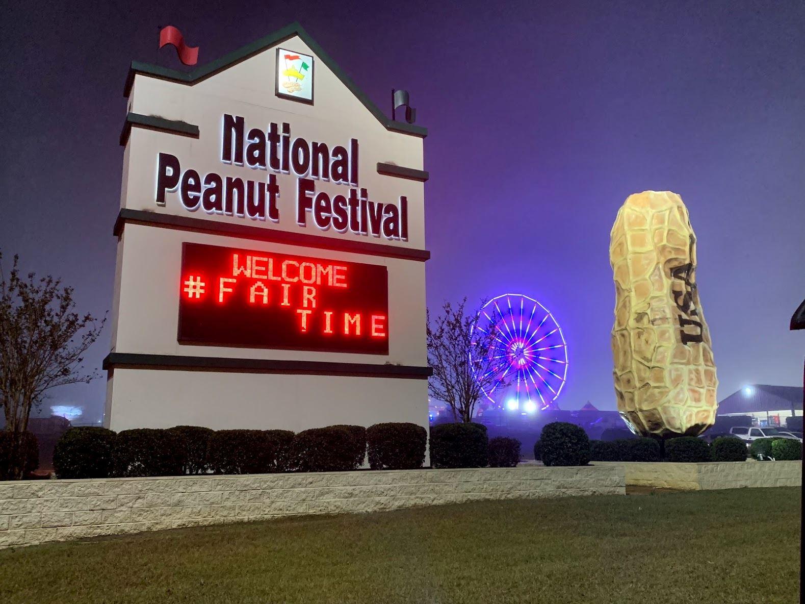 Peanut Festival 2020.Vendor