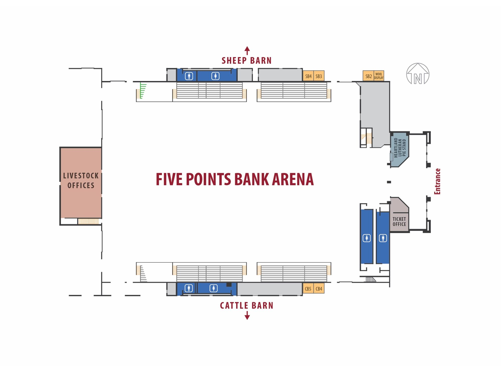 Merch Search Map Top Coat Stickers Additionally Potato Battery Light Bulb Diagram Five Points Arena