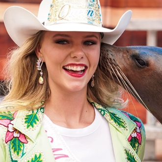 New Mexico State Fair Queen Deanne Guthrie