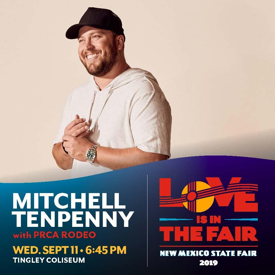 Mitchell Tenpenny with PRCA Rodeo