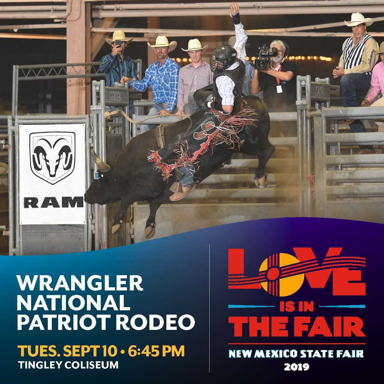 Wrangler National Patriot PRCA Rodeo