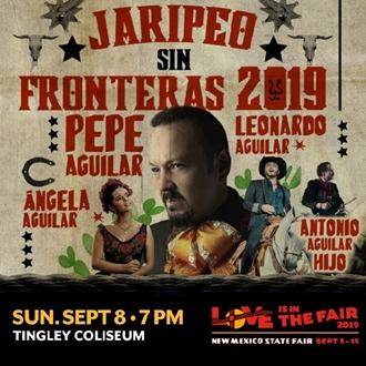Pepe Aguilar: Jaripeo Sin Fronteras