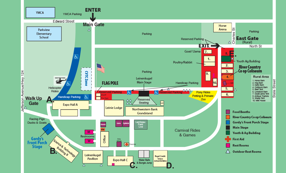 Northern Wisconsin State Fair Important Information